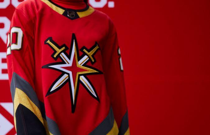 Vegas #ReverseRetro jersey